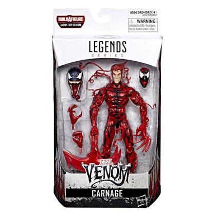 Marvel Legends - Monster Venom BAF - Venom - Carnage 6-Inch Action Figure (E2943)