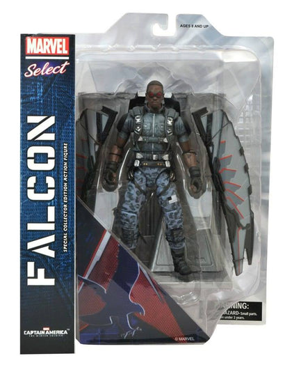 Diamond Select Toys - Marvel Select - Captain America - Falcon Action Figure
