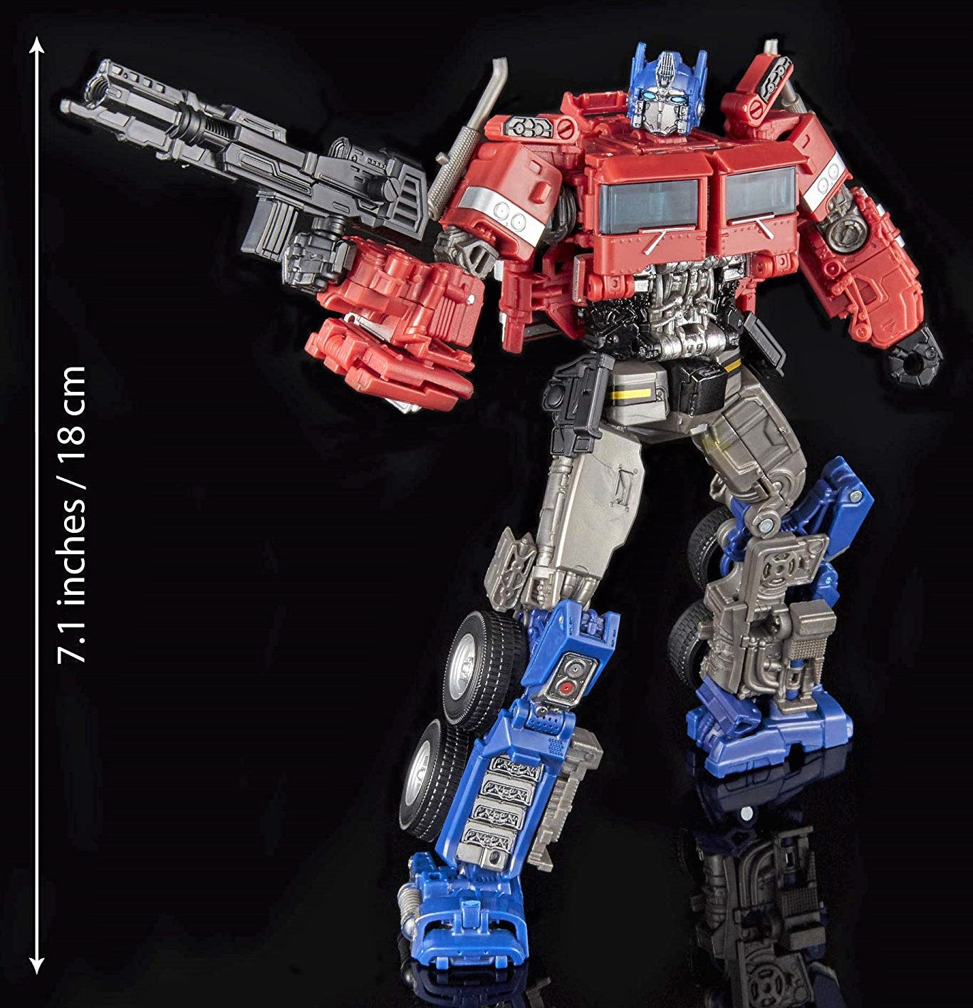 Transformers: Generations - Studio Series 38 - Voyager Class - Bumblebee Movie - Optimus Prime (E4629)