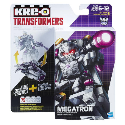 KRE-O Transformers - Kreon Battle Changer - Megatron (B5585) Building Toy