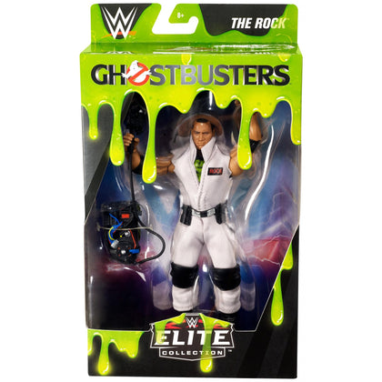 WWE Elite Collection - Ghostbusters - The Rock (GLC84) Action Figure