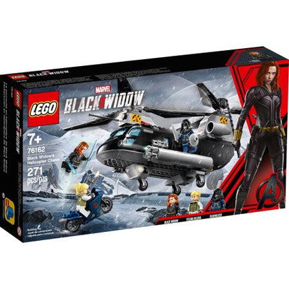 LEGO Marvel Black Widow - Black Widow's Helicopter Chase (76162) Building Toy