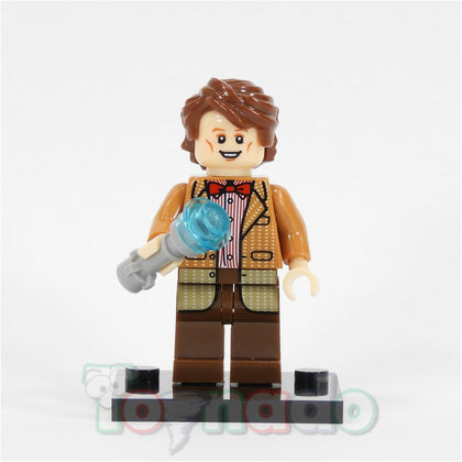 BBC TV - Doctor Who - 10th Doctor (Matt Smith + Sonic Screwdriver) Custom Minifigure