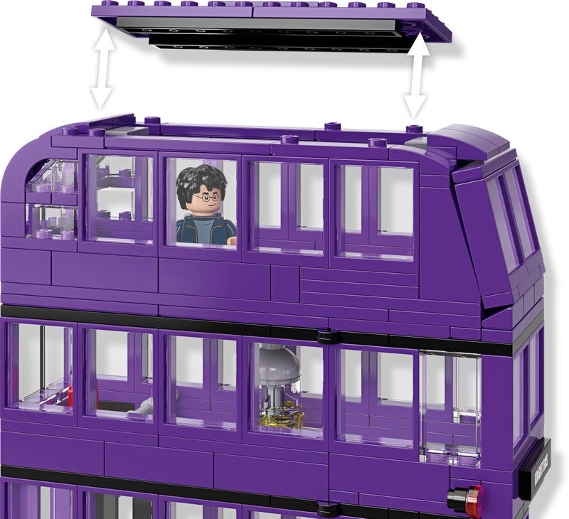LEGO Harry Potter - Wizarding World - The Knight Bus (75957) Building Toy