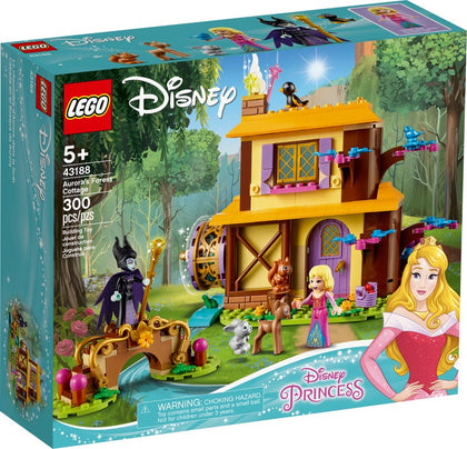 LEGO Disney - Aurora's Forest Cottage (43188) Building Toy