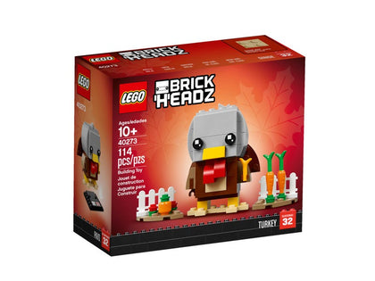 LEGO BrickHeadz - Thanksgiving Turkey (40273) Building Toy