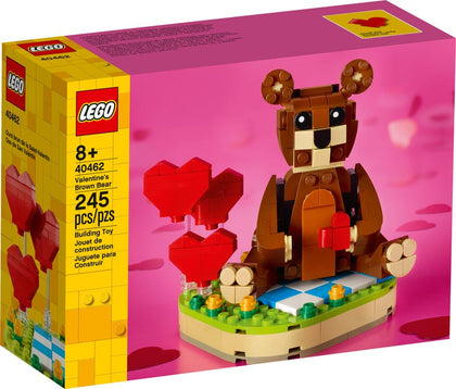 LEGO Exclusive - Valentine's Brown Bear (40462) Building Toy