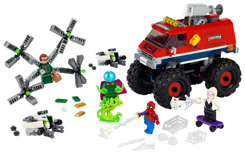 LEGO Marvel Spider-Man - Spider-Man's Monster Truck vs. Mysterio (76174) Building Toy