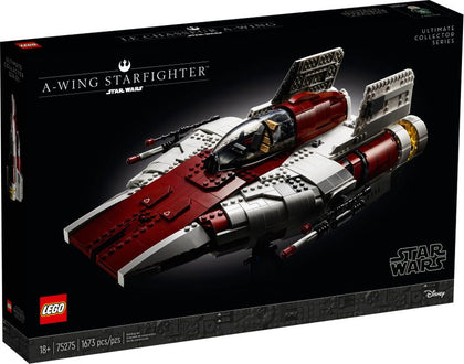 LEGO Star Wars: The Return of the Jedi - A-Wing Star Fighter (75275) Building Toy