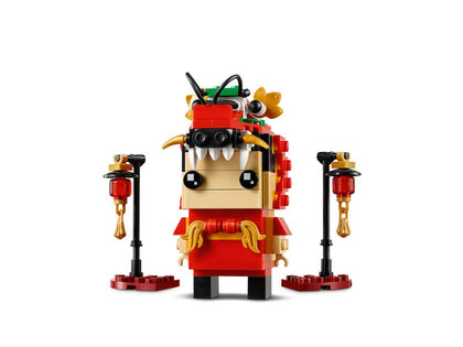 LEGO BrickHeadz - Dragon Dance Guy (40354) Building Toy