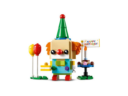 LEGO BrickHeadz - Birthday Clown (40348) Building Toy