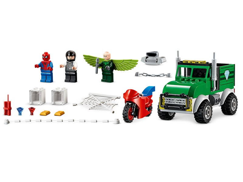 LEGO Marvel - Spider-Man - Vulture's Trucker Robbery (76147) Building Toy
