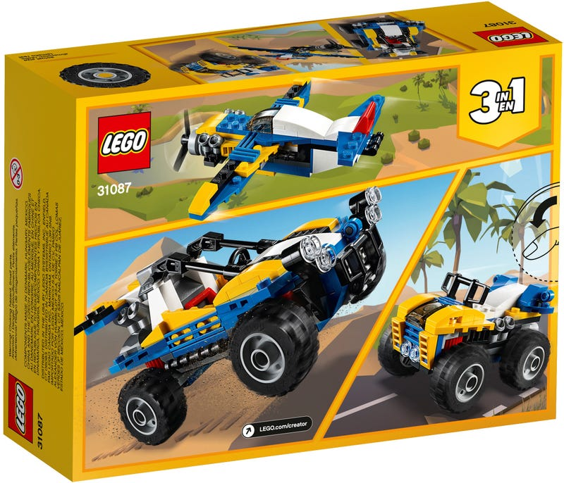 LEGO Creator 3-in-1 - Dune Buggy (31087) Building Toy