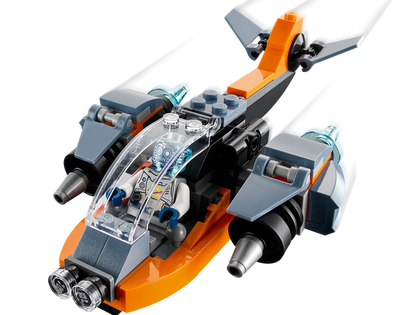LEGO Creator 3-in-1 - Cyber Drone (31111) Building Toy