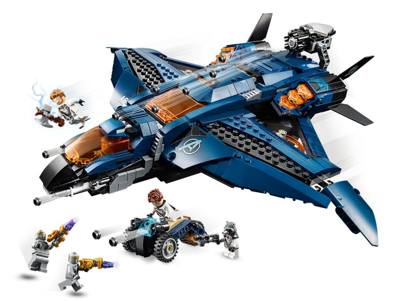LEGO Marvel - The Avengers - Avengers Ultimate Quinjet (76126) Building Toy