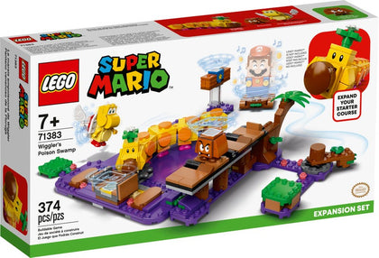 LEGO Super Mario - Wiggler's Poison Swamp Expansion Set (71383) Buildable Game