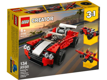 LEGO Creator 3-in-1 - Sports Car (31100) Building Toy