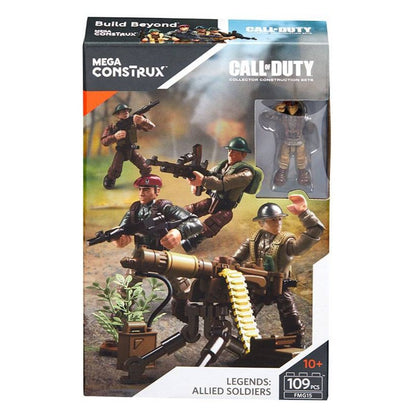 Mega Construx - Call of Duty - Legends: Allied Soldiers (FMG15)
