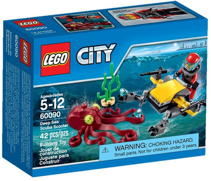 LEGO City - Deep Sea Scuba Scooter (60090)