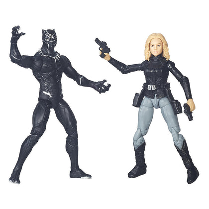 Marvel Legends - Avengers 2-Pack - Black Panther and Agent 13