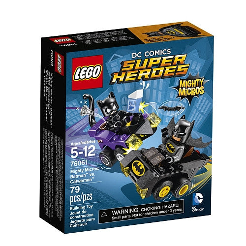 LEGO Super Heroes - Mighty Micros - Batman vs Catwoman (76061)