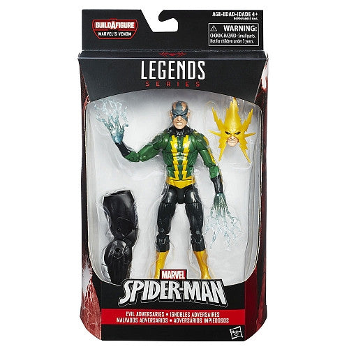 Hasbro - Marvel Legends - Marvel's Space Venom BAF - Spider-Man - Evil Adversaries - Marvel's Electro (B6906)