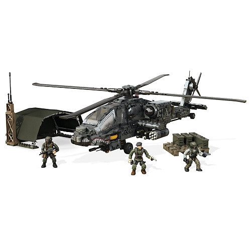 Mega Bloks Call Of Duty Ah 64 Apache Anti Armor Helicopter Dpb60