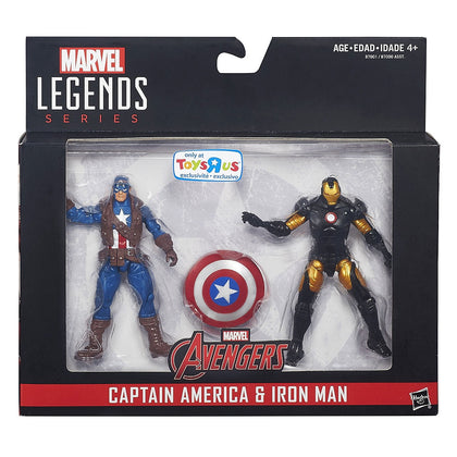Marvel Legends - Avengers 2-Pack - Captain America and Marvel NOW! Iron Man