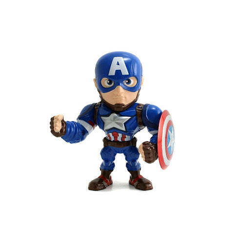 Metals Die Cast - Marvel - Captain America: Civil War - Captain America (M45) 4-Inch Figure