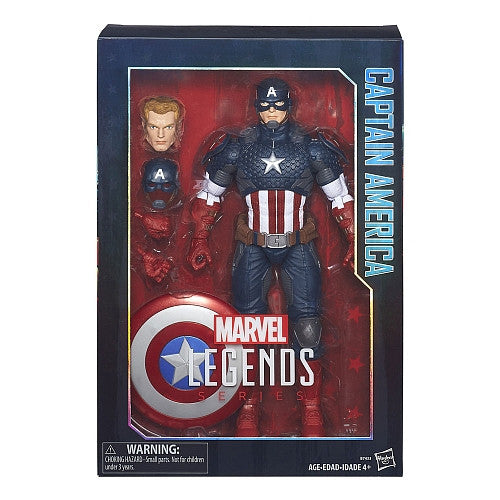 Marvel Legends Series - Captain America 12-Inch Action Figure (B7433)
