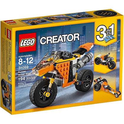 LEGO Creator 3-in-1 - Sunset Street Bike (31059) Building Toy
