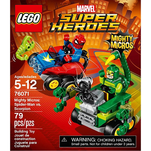 LEGO Super Heroes - Mighty Micros - Spider-Man vs Scorpion (76071)