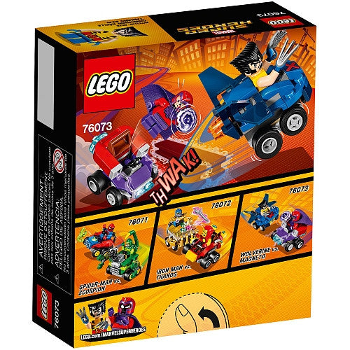 LEGO - Marvel Super Heroes - Mighty Micros - Wolverine vs. Magneto (76073)