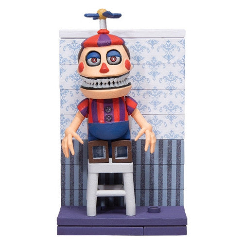 McFarlane Construction Set - Five Nights at Freddy's - Fun with Nightmare Balloon Boy Figure + Chair (12665)