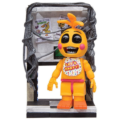 McFarlane Micro Set - Five Nights at Freddy's Toy Chica Figure with Right Air Vent (12662)