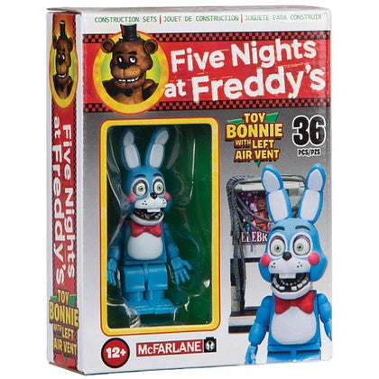 McFarlane Micro Set - Five Nights at Freddy's 2 - Toy Bonnie Figure with Left Air Vent (12661)