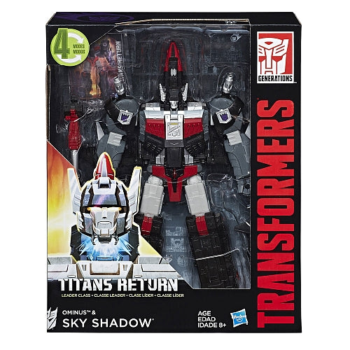 Transformers - Titans Return - Sky Shadow and Ominus Action Figures