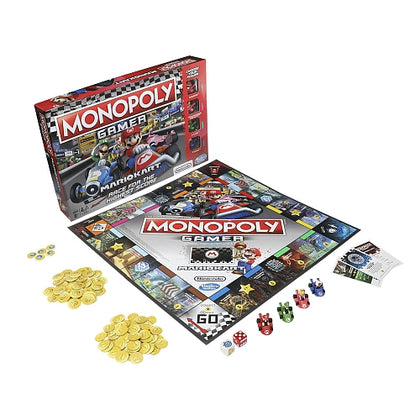 Hasbro Gaming - Monopoly Gamer: Mario Kart Edition Board Game