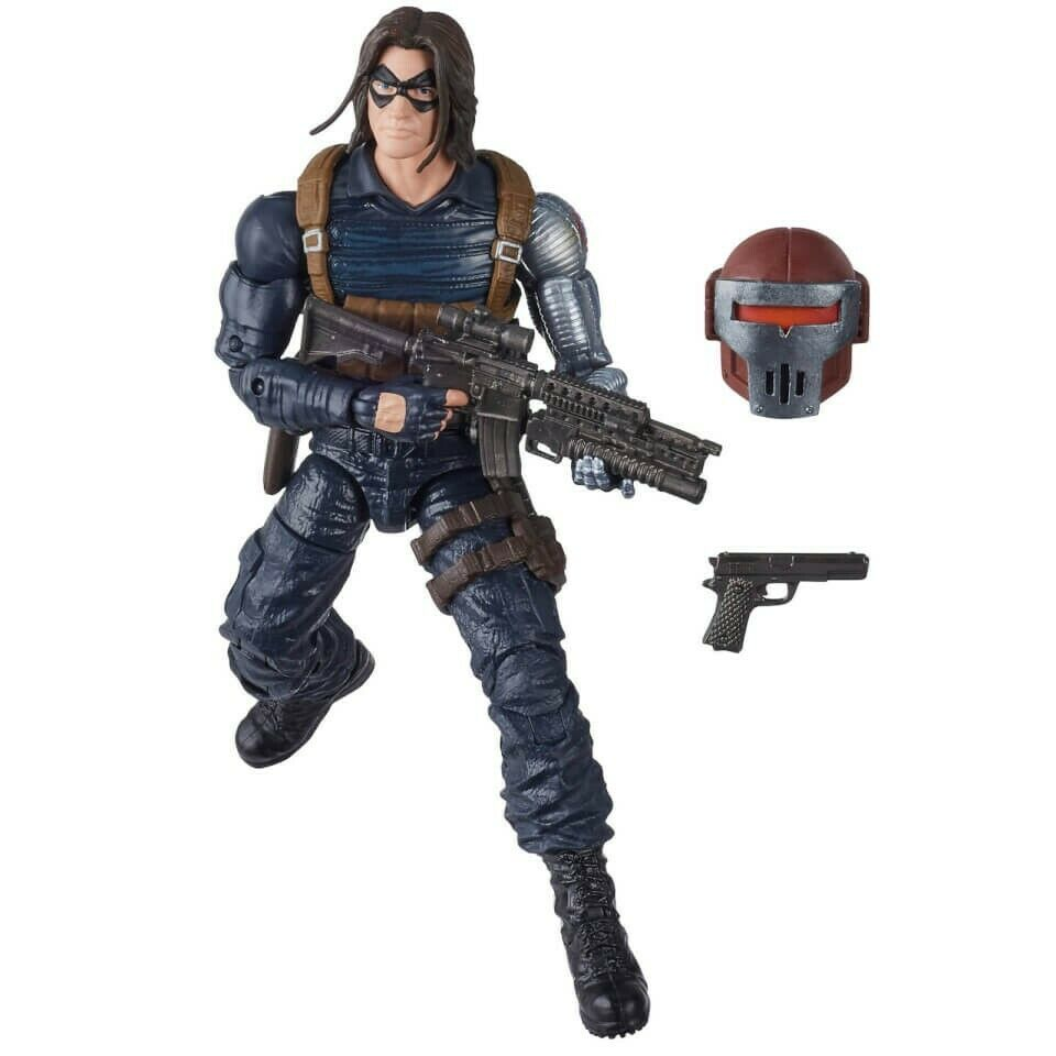 Marvel Legends - Crimson Dynamo BAF - Winter Soldier Action Figure (E8770)