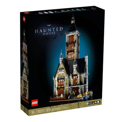LEGO Creator - Fairground Collection - Haunted House (10273) Building Toy Exclusive