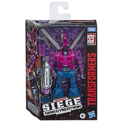 Transformers - War for Cybertron: SIEGE - Spinister Action Figure (WFC-S48)