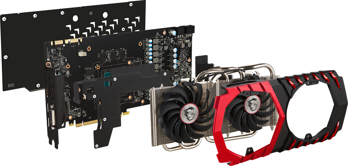 Lease the MSI GeForce GTX 1080 Gaming X 8G Graphics Card - Breakdown