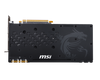 Lease the MSI GeForce GTX 1060 Gaming X 3GB Graphics Card - Back plate