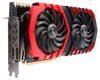 Lease the MSI GeForce GTX 1080 Ti Gaming X 11G Graphics Card - From Side Front and IO Ports