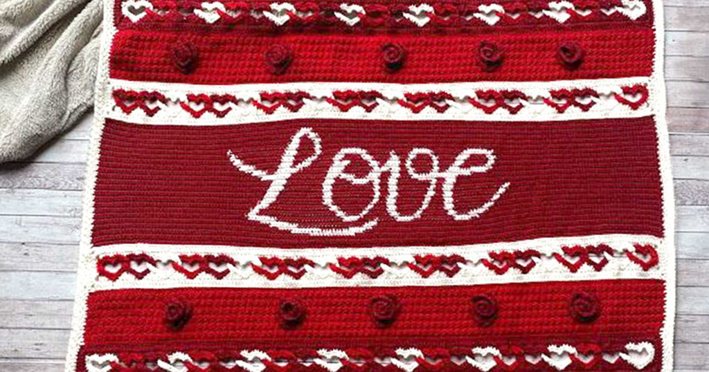 Why not Knit or Crochet something this Valentine's