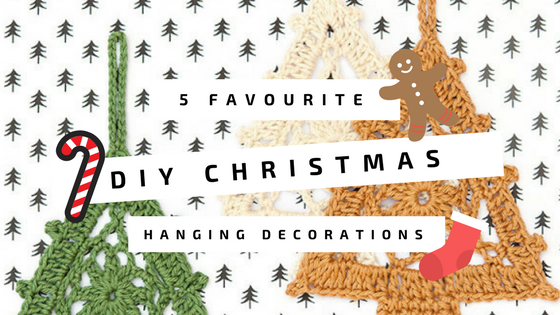 5 Of Our Favourites: DIY Christmas Hanging Decorations