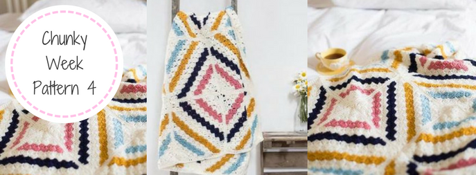 Crochet Knit Blanket FREE Pattern