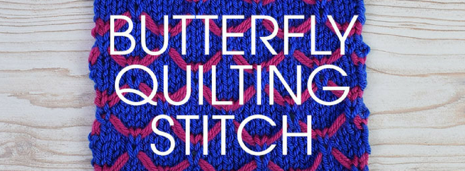 Stitch of the Week: Butterfly Quilting