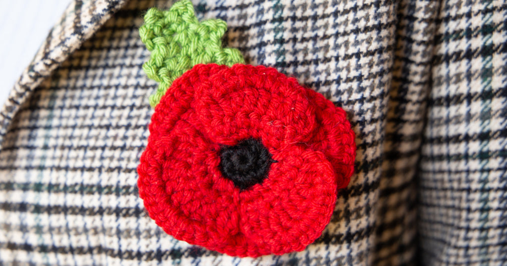 Crafting With Crochet and Knitted Poppies
