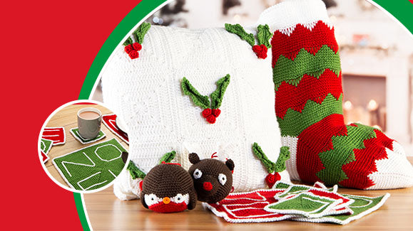 The Official Deramores 2019 Christmas Crochet-Along